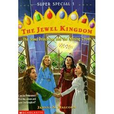 This is the only book I read of this series when I was in 4th grade...I have to admit to loving it still. I wish I could find the rest of the series. The Jewel Kingdom series by Jahnna N. Malcolm