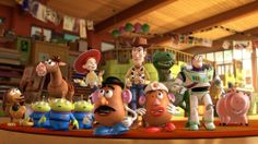 Pixar has released two new TV spots for the upcoming holiday special - 'Toy Story That Time Forgot' - about an epic battle between our Woody and the gang and dinosaur toys. Disney Pixar, Disney Toys, Disney Animation, Disney Movies, Animation Movies, Toy Story 3, Story Time, Walt Disney Pictures, Buzz Lightyear