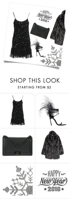 """""""Untitled #592"""" by cinzia-cipriani ❤ liked on Polyvore featuring RED Valentino, Yves Saint Laurent, Chanel and Cricut"""