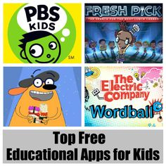 Top Free Educational Apps for Kids #Pbskids