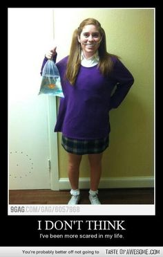 Best costume ever! darla- finding nemo.... Getting excited...