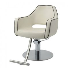 Aviator Styling Chair in Ivory
