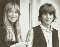 ♡♥George with wife Pattie Boyd - click on pic to see a larger pic♥♡