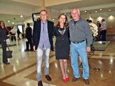 Miguel Luiz Medeiros/Revista Quasar Turismo, Marta Rossi/Diretora Festuris Gramado e Juarez Aguiar/Revista Tititur. Lançamento do Festuris Gramado 2012.