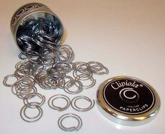 Clipiola italian paper clips. Dress up your documents in style. Their unique and fun!