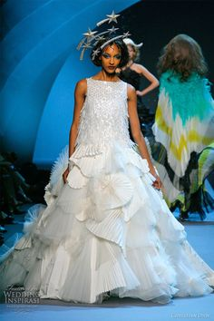 First Christian Dior Collection Dresses NOT Designed by Galliano