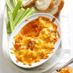 Buffalo Chicken Dip Recipe from Taste of Home -- shared by Peggy A. Foster of Florence, Kentucky