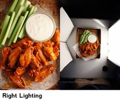 Right Lighting Food Photography