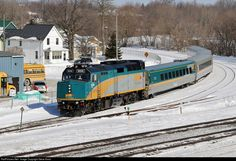 RailPictures.Net Photo: VIA 6434 VIA Rail EMD F40PH-3 at Brockville, Ontario, Canada by Steve Arnot