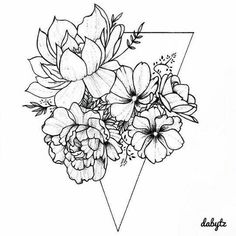Flowers drawing simple tattoos 61 ideas is part of Thigh tattoos Flower Ring - Thigh tattoos Flower Ring Trendy Tattoos, New Tattoos, Body Art Tattoos, Small Tattoos, Sleeve Tattoos, Tattoos For Women, Dragon Tattoos, Natur Tattoos, Kunst Tattoos