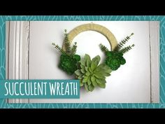 DIY Succulent Wreath - HGTV Handmade