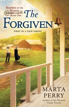 The Forgiven, the first book in a new Amish series, will be in stores on October 3rd,