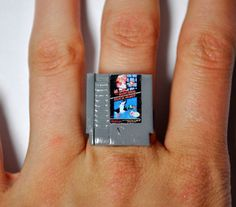 Super Mario Bros. Ring | 10 Pieces Of Video Game Jewelry To Level Up Your Style