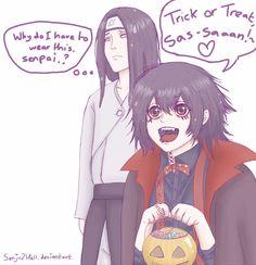 Merry Halloween! by Senju2Hell.deviantart.com on @DeviantArt