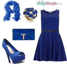 Blue Outfit Inspiration