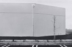 Lewis Baltz, South Wall, Unoccupied Industrial Structure, 16812 Milliken, Irvine, from the portfolio The New Industrial Parks near Irvine, California, 1974