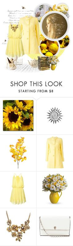 """Where the Sun Shines Brightest"" by birdiemcgrew ❤ liked on Polyvore featuring Trademark Fine Art, Emilio Pucci, WithChic, Valextra and KG Kurt Geiger"