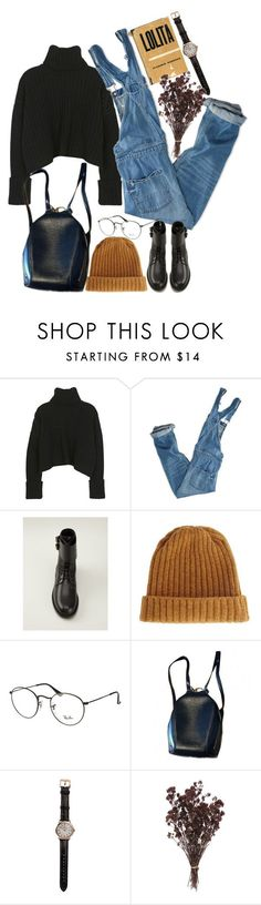 """Untitled #9261"" by nikka-phillips ❤ liked on Polyvore featuring American Eagle Outfitters, Yves Saint Laurent, ASOS, Ray-Ban, Louis Vuitton and Shinola"