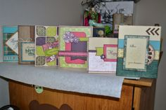 Kim Ferguson's Crafting Blog - Rubber Stamping and Scrapbooking: Birthday/Thinking of You Card Workshop