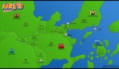 #Mapa #MundoNinja #Naruto #Konoha
