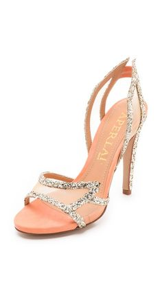What's New      Designers      Boutiques      Clothing      Shoes      Bags      Accessories      Sale      Lookbooks      My Shopbop    Aperlai  Glitter Wing Sandals  $865.00    Color: Champagne