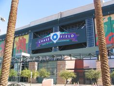 Chase Field, Phoenix, AZ. Home of the Arizona Diamondbacks. Visited June 8, 2013. SF 10- AZ 5.