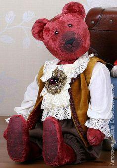 Vintage Teddy Bear by Elena Bestuzheva