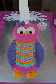 owl birthday cakes for kids