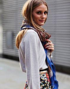 Olivia Palermo #Foulard