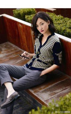 Xun Zhou in Chanel