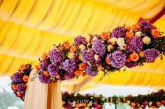 india italy silk wedding flowers