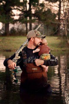 Snell photography newborn duck hunter