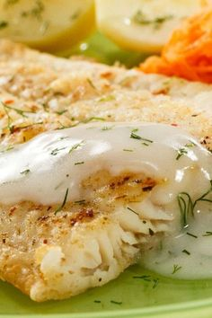 Pacific Cod with Garlic Sauce-The Best Seafood Recipes Around