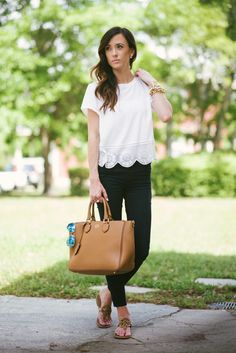 24 Ideas For Party Outfit Casual Spring Tory Burch Style Work, My Style, Casual Outfits, Cute Outfits, Work Fashion, Women's Fashion, Spring Summer Fashion, Summer Fall, Passion For Fashion