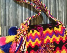 Wayuu Mochila Bag by LittleLatinStore on Etsy