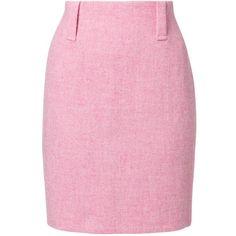 Harris Tweed Clothing Pencil skirt ($305) ❤ liked on Polyvore