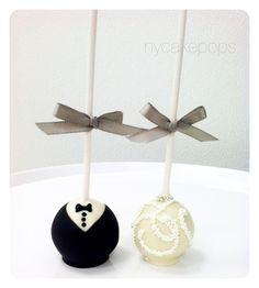 Wedding Cake Pops - New York Cake Pops