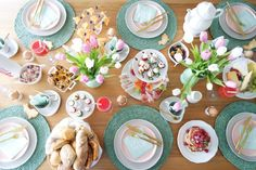 Last Minute Ideen Osterbrunch! #Frühstück #Ostern #Brunch #Pancakes #Etagere #Osterbrunch
