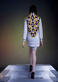 Tothem FW13. Love the mini skirt peeking out at the bottom.