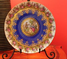 Schaller Bavaria Serving Plate.  Antique by AnythingDiscovered, $98.00