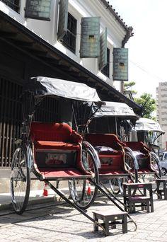 Jinrikisha 人力車  #japan#fukuoka#hakata