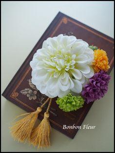 Bonbon Fleur ~ Jours heureux コサージュ&和装髪飾りの画像|エキサイトブログ (blog)