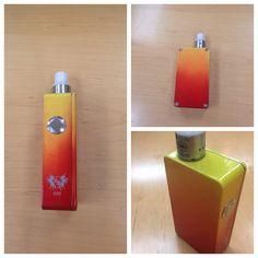 "Cool paint job on #099 the last double digit box we will ever make!!!Sales@unicornfactorymods.com to buy this custom ""tequila sunrise"" box #authentic #modmen #vapeporn #vapehooligans #vape #boxmod #plumeveil #regulatedbox #subohm #dmvvape#limitededition #customecig #calivapers #vapestar #modcrush #m #Padgram"