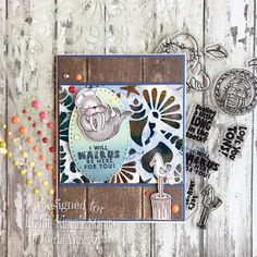 Karla Yungwirth Designs: Kraftin' Kimmie Stamps July New Release Sneak Peeks Day 3 - Long In The Tooth! And Saturday Challenge!