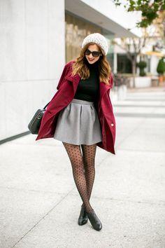 17 Maneras de Vestir con una Falda en Invierno – Ideas muy Sencillas
