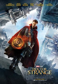 El Puffs. Poster promocional de la próxima película de Marvel #DoctorStrange