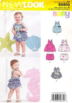 abab61a11e7 38 Best New Look Girls  Toddlers  Babies  Sewing Pattern Collection ...
