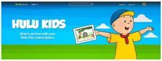 New Hulu Kids -- tons of cool, ad-free kids' shows and movies. Sweet!