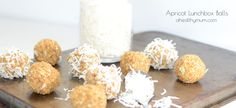 Apricot Bliss Balls Lunchbox