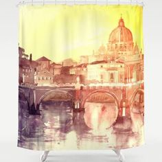 rome shower curtains